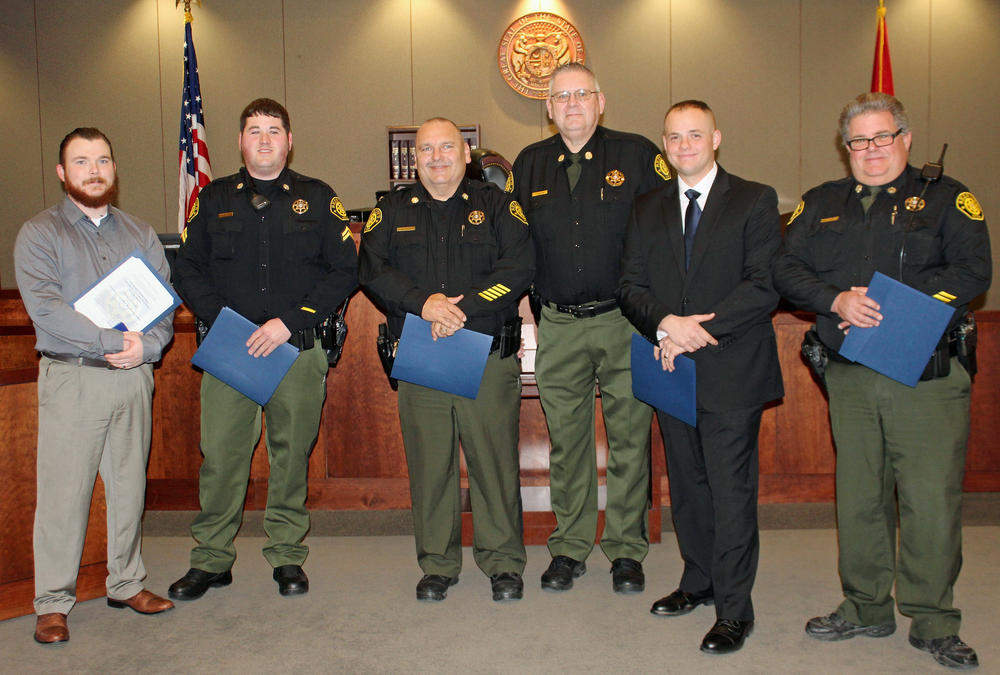 Camden County Deputies Receive Medals - Press Releases